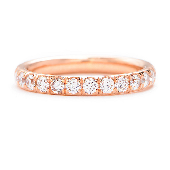 Greenwich St. Ceremony Delancey Diamond Wedding Band- 1.07twt