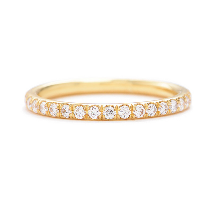 Greenwich St. Ceremony Barrow Diamond Wedding Band