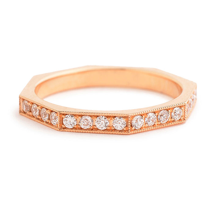 Single Stone Reilyn Diamond Band