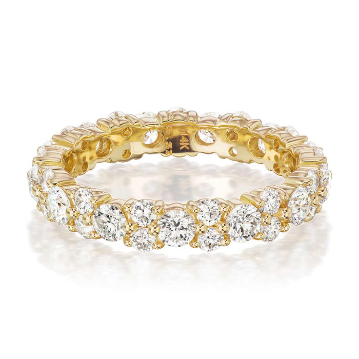 Thompson Diamond Wedding Band