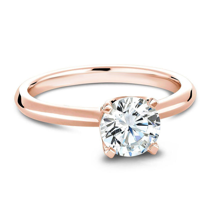 Pave Basket Diamond Engagament Ring Setting