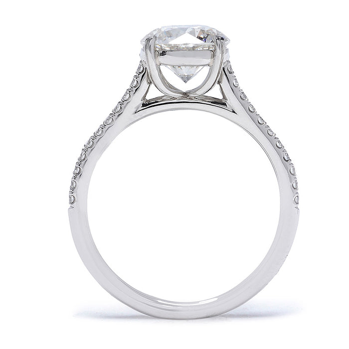 Danhov Classico Diamond Engagement Ring Setting