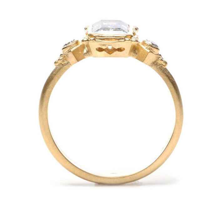 Picture Frame Engagement Ring Setting