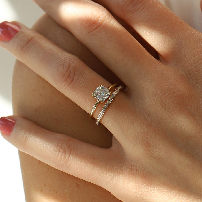 Warren Solitaire Engagement Ring Setting