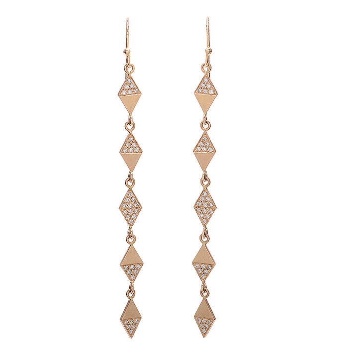 Harlequin Diamond Earrings