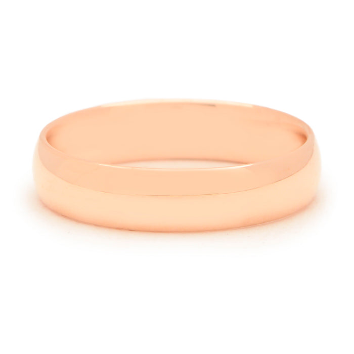 Walker Rose Gold 5mm Wedding Band