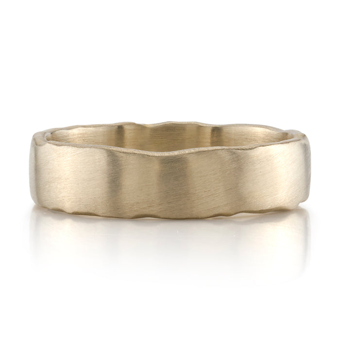 Maxwell White Gold Wedding Band