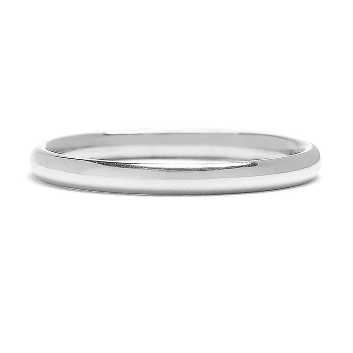 Greenwich St. Ceremony Jay Wedding Band- 2mm