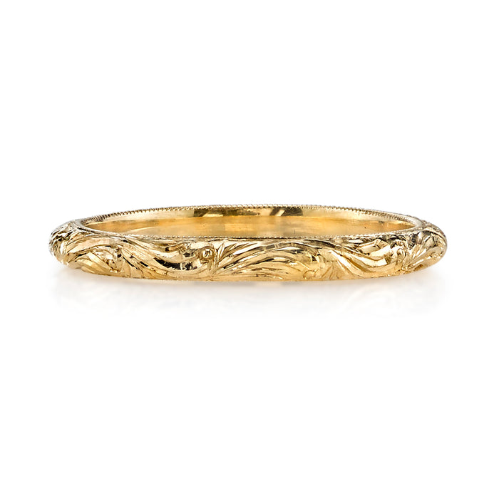 Natalie Yellow Gold Wedding Band