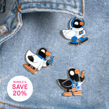 Duck Companion Enamel Pin Bundle