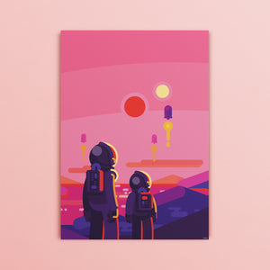 Astronauts Poster