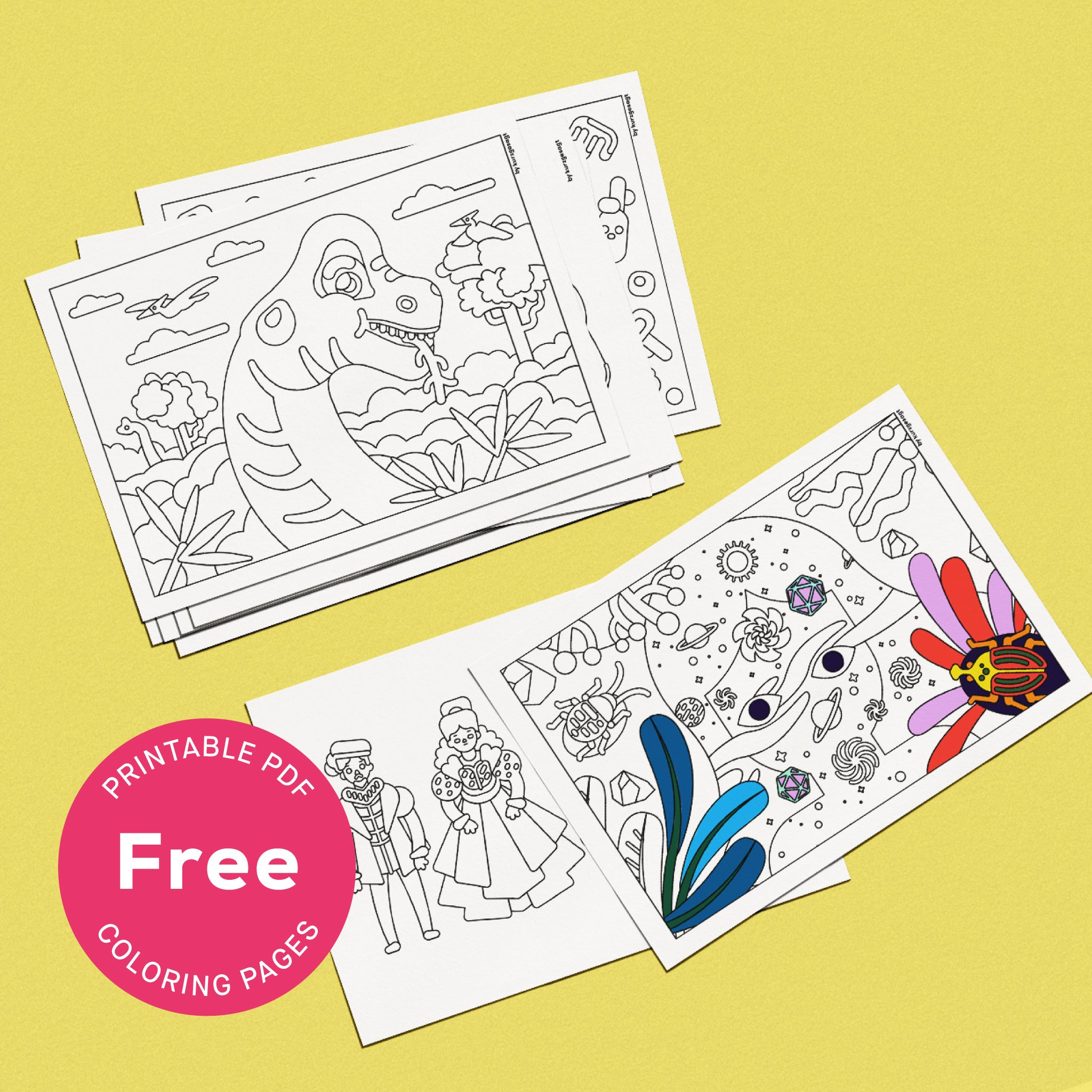 - Download – Printable Coloring Pages (Complete Collection) – In A