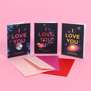 Love Collection Greeting Card Set