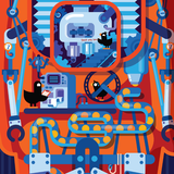 Twin Robot Posters