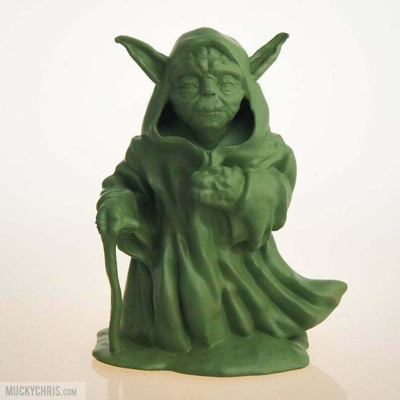 Yoda Walking | Star Wars | Moss Green