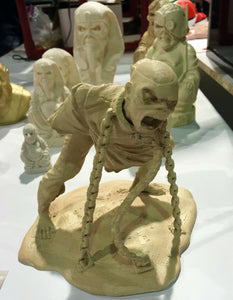 "Iron Maiden Eddie ""Piece of Mind"" Sculpture"