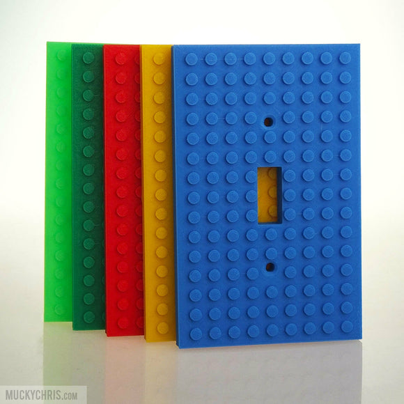 Lego Light Switch Cover | Lego Art | Lego Gift | Lego Fan
