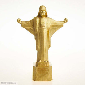 Darth Vader the Redeemer Statue | Star Wars | Empire | Brilliant Gold