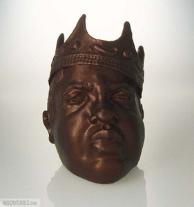Notorious B.I.G. Bust | Big Poppa | Biggie | Rap Music | Metallic Rust