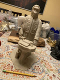 Lawgiver Statue | Planet of the Apes | Antiqued Desert Sand