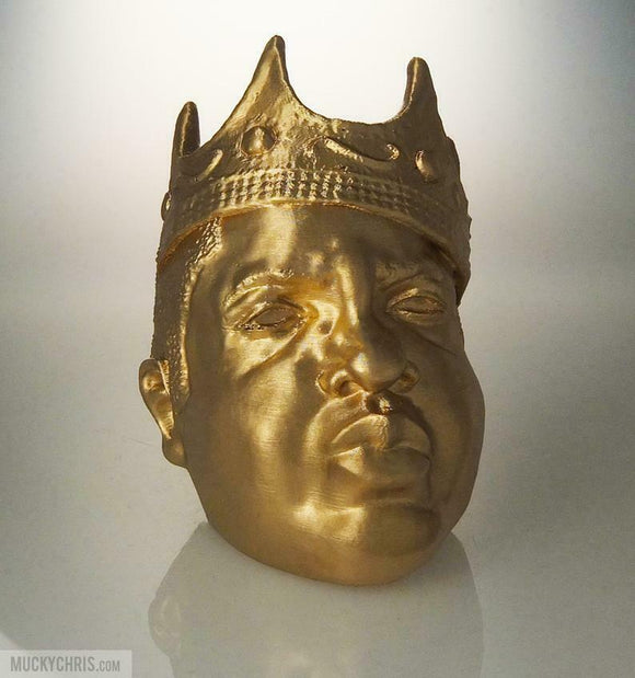 Notorious B.I.G. Bust | Big Poppa | Biggie | Rap Music | Brilliant Gold