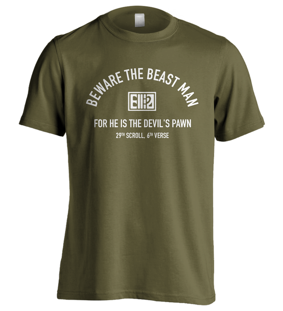 Planet of the Apes | Beware The Beast Man... | T-Shirt