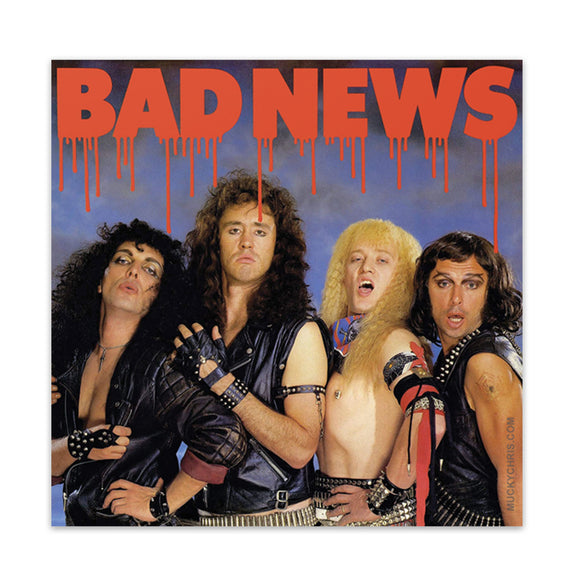 Bad News | Sticker