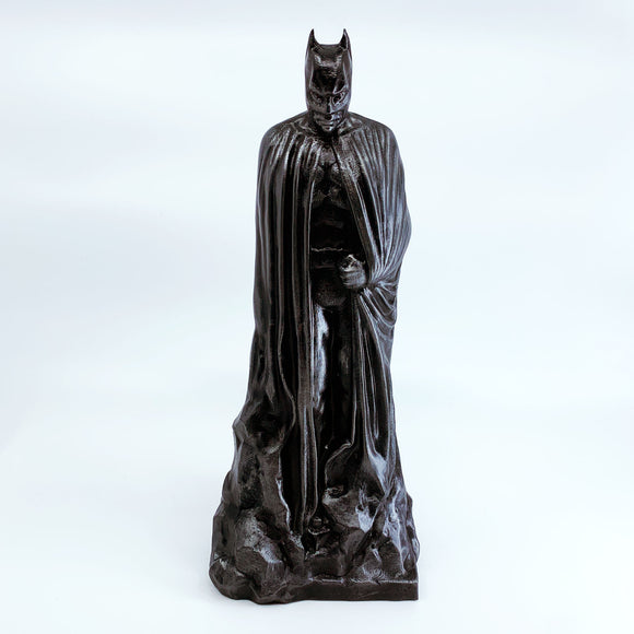 Batman Memorial Statue | Dark Knight | DC Comics | Hammered Iron Paint Job