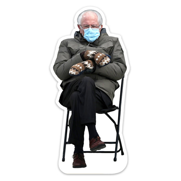 Bernie Sanders with Mittens | 3
