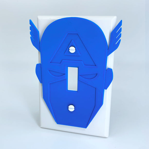 Captain America | Light Switch Cover | Marvel | Avengers