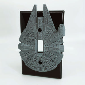 Millennium Falcon | Han Solo | Star Wars | Light Switch Cover