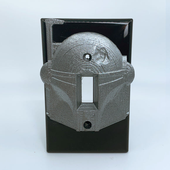 Boba Fett | Star Wars | Mandalorian | Light Switch Cover