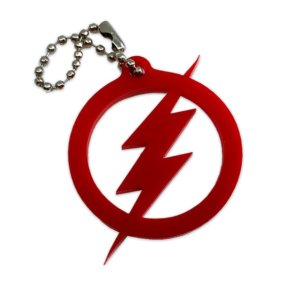 Flash Logo - DC Comics - Keychain