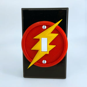 The Flash | Barry Allen | DC Comics | Light Switch Cover