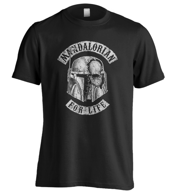 Boba Fett | Mandalorian for Life | Star Wars | T-Shirt