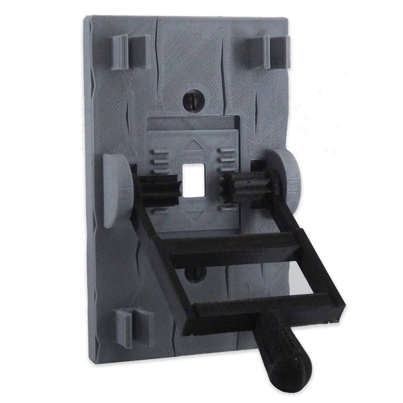 Mad Scientist Frankenstein | Gray Light Switch Cover