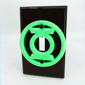 Green Lantern Glow in the Dark | DC Comics | Light Switch Cover
