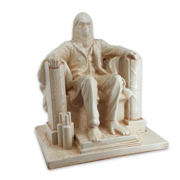 Lawgiver | Lincoln Zaius Memorial | Planet of the Apes | Antiqued Desert Sand