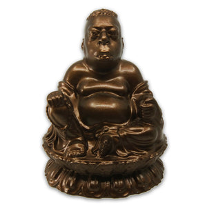 Beetlejuice Lotus Buddha | Howard Stern | Metallic Rust