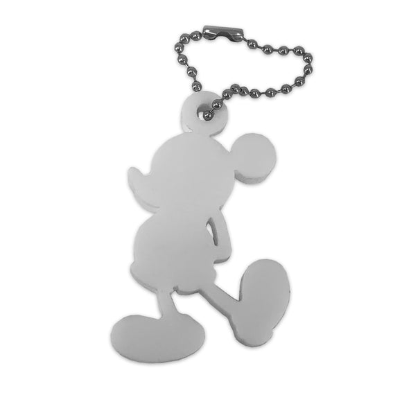 Mickey Mouse Keychain - White - Keychain