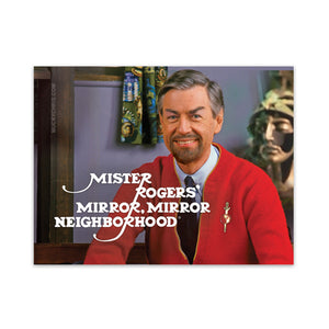 Star Trek | Mr. Rogers | Mirror Mirror | Sticker