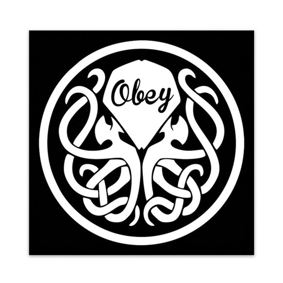 Cthulhu | OBEY | H.P. Lovecraft | Sticker