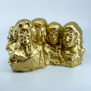 The Golden Girls | Mt. Rushmore | Brilliant Gold | 2 Sizes Available