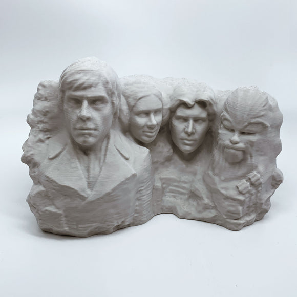 Star Wars Heroes | Mt. Rushmore | Desert Sand | 2 Sizes Available