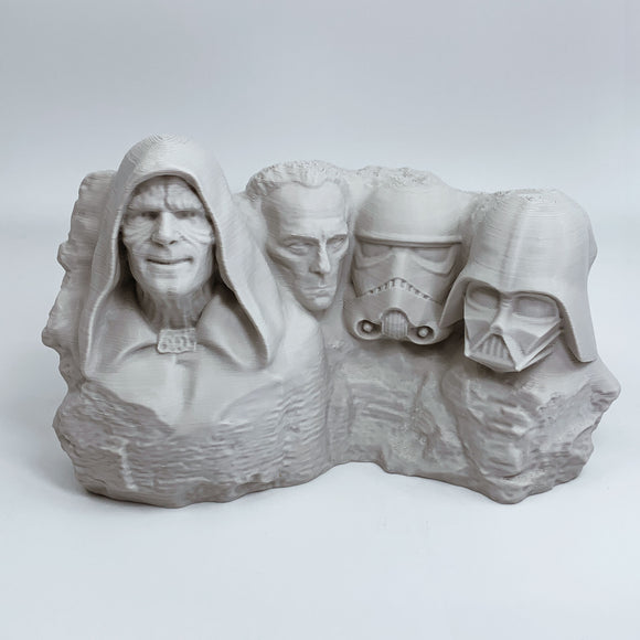 Star Wars Villains | Mt. Rushmore | Desert Sand | 2 Sizes Available