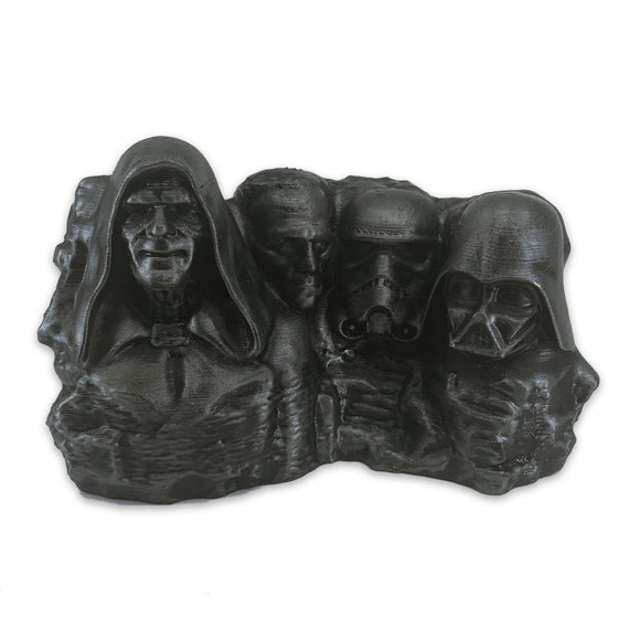 Star Wars Villains | Mt. Rushmore | Hammered Iron Paint Job | 2 Sizes Available