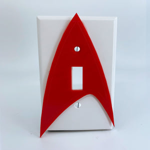 Star Trek | Enterprise | Laser Cut | Light Switch Covers