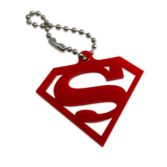 Superman Logo - DC Comics - Justice League - Keychain