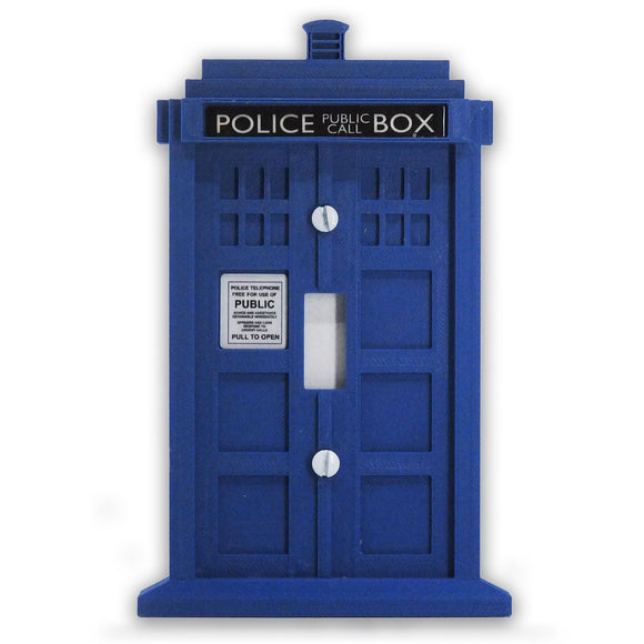 Dr. Who Tardis Call Box - Keychain
