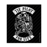 Tie Pilot for Life | Star Wars | Sticker